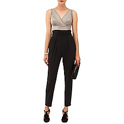 Phase Eight - Black and Antique michelle jumpsuit