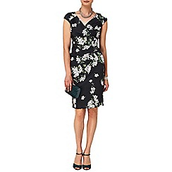 Phase Eight - Black and Multi-coloured Camille Floral Dress