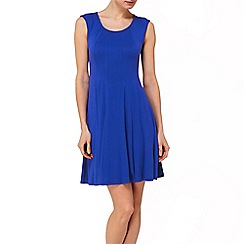 Phase Eight - Periwinkle rosa panelled dress