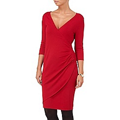 Phase Eight - Deep Red maisie wrap dress