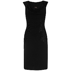 Phase Eight - Black honor draped dress