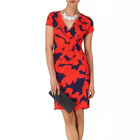 Phase Eight - Poppy and Navy belle butterfly dress
