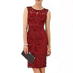 Phase Eight - Ruby carmen tapework dress