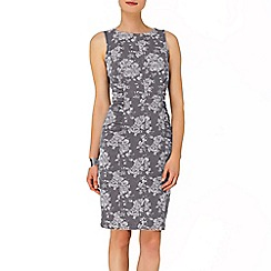 Phase Eight - Grey Lola Floral Denim Dress
