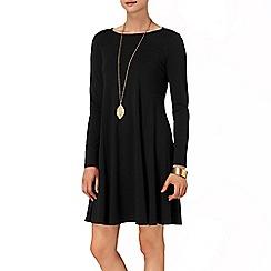 Phase Eight - Black frida flippy dress