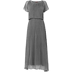 Phase Eight - Charcoal Rae Silk Maxi Dress