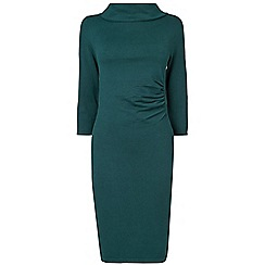 Phase Eight - Petrol bronte bardot dress