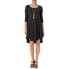 Phase Eight - Charcoal terrie trapeze dress