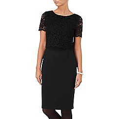 Phase Eight - Black louise lace dress