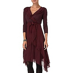 Phase Eight - Raisin seraphina silk dress
