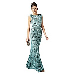 Phase Eight - Sky paige tapework full length dress