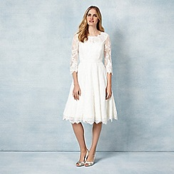 Phase Eight - Cream cressida wedding dress