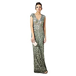 Phase Eight - Sea green colette sequin dress