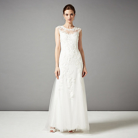 Phase eight ivory josefina wedding dress debenhams for Phase eight wedding dresses
