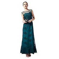 Phase Eight - Collection 8 sea green catalonia embroidered full length dress