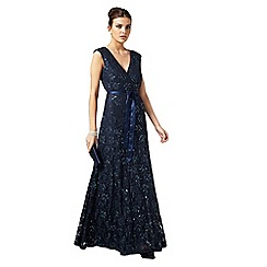 Phase Eight - Storm murcia lace beaded full length dress