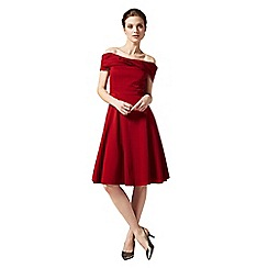 Phase Eight - Scarlet odette grosgrain dress