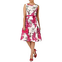 Phase Eight - Multi-coloured cherie printed lace dress