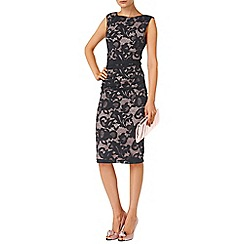 Phase Eight - Black and Nude tammy lace dress