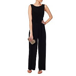 Phase Eight - Black viola jumpsuit