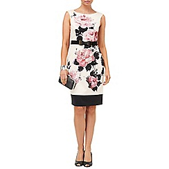 Phase Eight - Multi-coloured carrera rose dress