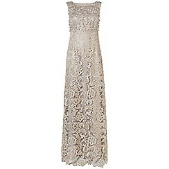 Phase Eight - Collection 8 silver aleana pearl lace dress