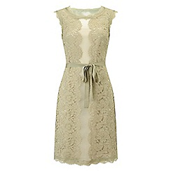 Phase Eight - Justine lace organza dress