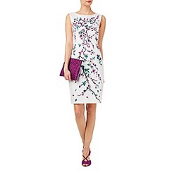 Phase Eight - Rosette embroidered dress
