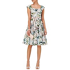 Phase Eight - Adele blossom fit & flare dress