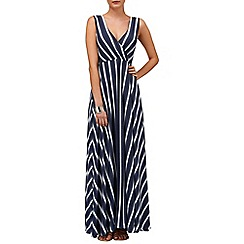 Phase Eight - Fran faded stripe maxi