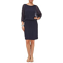 Phase Eight - Keri silk kimono sleeve dress