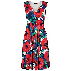 Phase Eight - Multi-coloured riviera print dress