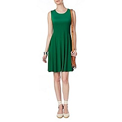 Phase Eight - Green rose swing dress