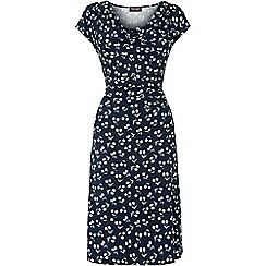 Phase Eight - Navy cherry print dress