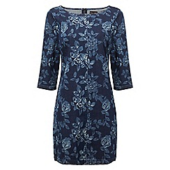 Phase Eight - Indigo aura denim swing dress