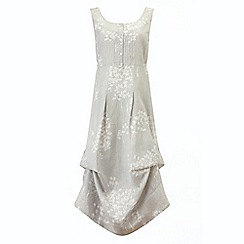 Phase Eight - Grey and White laurel hook up dress