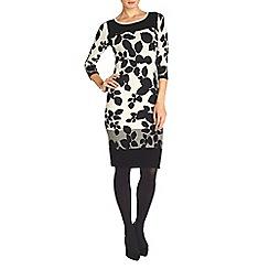 Phase Eight - Laila leaf block dress