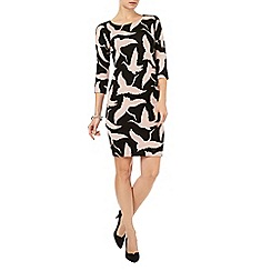 Phase Eight - Brona bird print dress