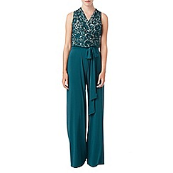 Phase Eight - Lace top jumpsuit