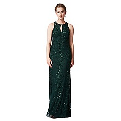 Phase Eight - Collection 8 emerald ottava embellished full length dress