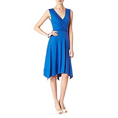 Phase Eight - Blue helen hanky hem dress