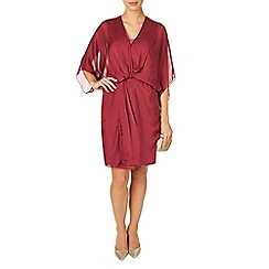 Phase Eight - Light Berry kacie kimono twist dress
