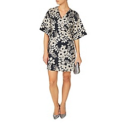 Phase Eight - Blue and White kadie kimono tunic dress