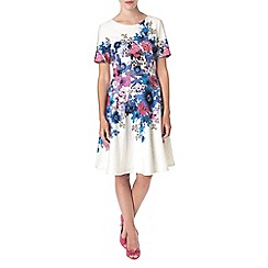 Phase Eight - Multi-coloured clematis dress