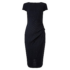 Phase Eight - Navy and White pin stripe dress