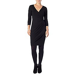 Phase Eight - Dark Charcoal Marl maisie wrap dress