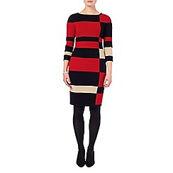 Phase Eight - Mackenzie colour block dress