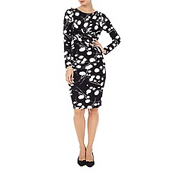Phase Eight - Black and White arlington dress