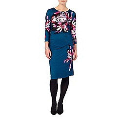Phase Eight - Multi-coloured dorika print dress