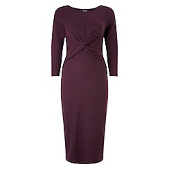 Phase Eight - Claret mandy midi dress